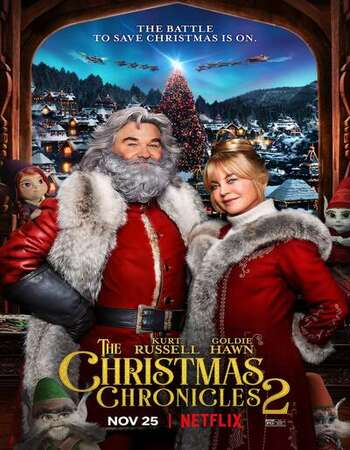 The Christmas Chronicles 2 2020 English 720p WEB-DL 950MB MSubs