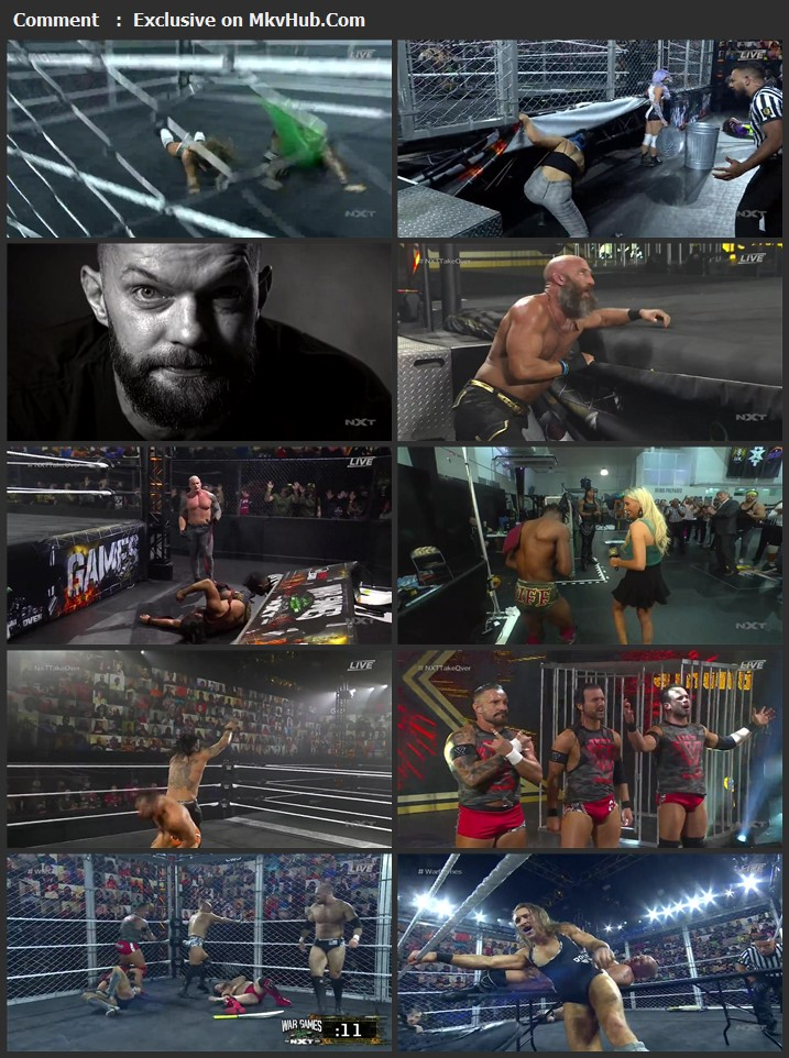 NXT TakeOver WarGames 2020 PPV 720p WEBRip x264 1.4GB Download