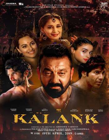 Kalank (2019) Hindi 720p DVDRip x264 1.3GB Download