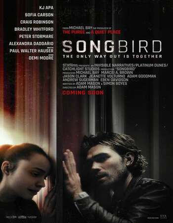 Songbird 2020 English 720p WEB-DL 750MB Download