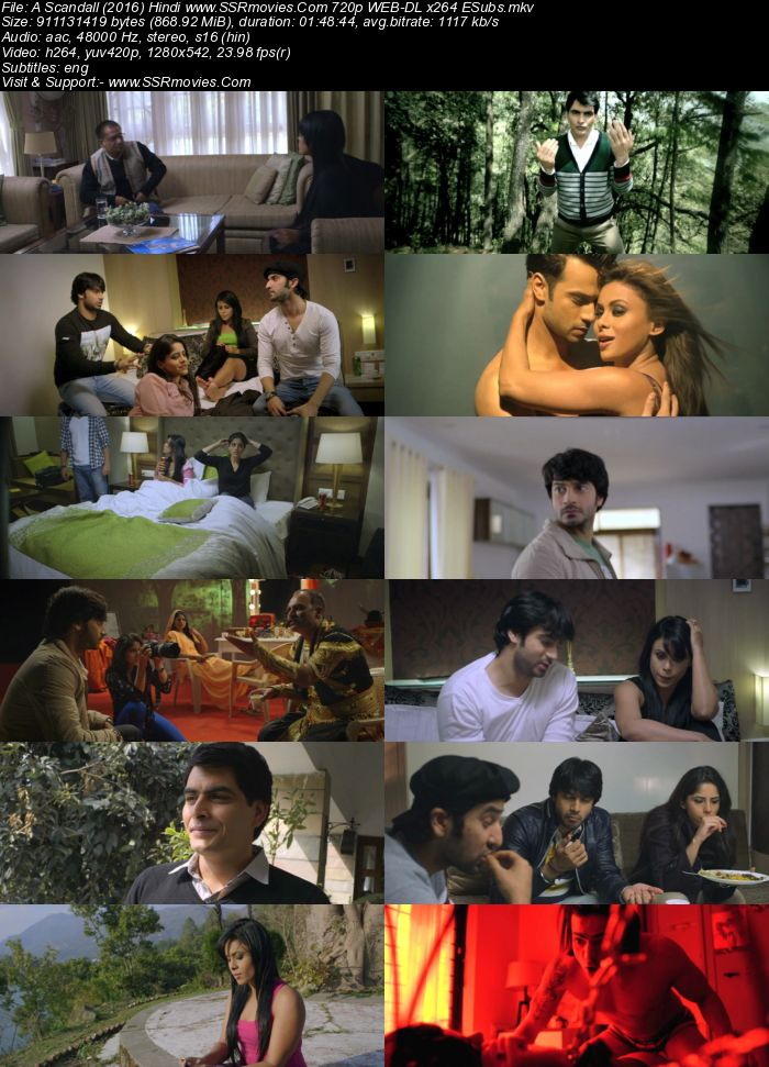 A Scandall (2016) Hindi 720p WEB-DL x264 850MB Full Movie Download