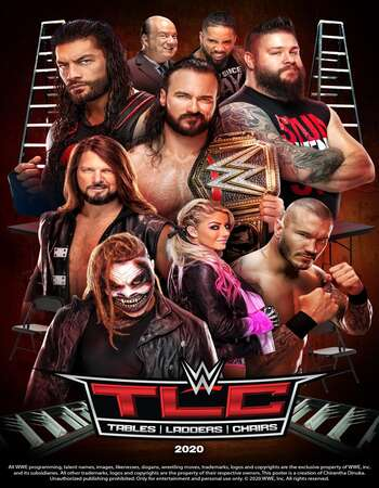 WWE TLC 2020 PPV 720p WEBRip Full Show Download