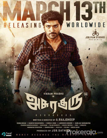 Asuraguru (2020) Hindi Dubbed 720p HDRip x264 850MB Movie Download