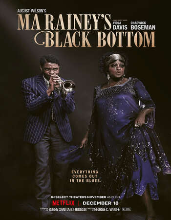 Ma Rainey's Black Bottom (2020) English 720p WEB-DL x264 800MB Full Movie Download