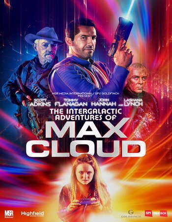 The Intergalactic Adventures of Max Cloud (2020) English 720p WEB-DL x264 750MB Full Movie Download