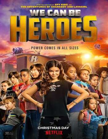 We Can Be Heroes 2020 English 720p WEB-DL 850MB Download