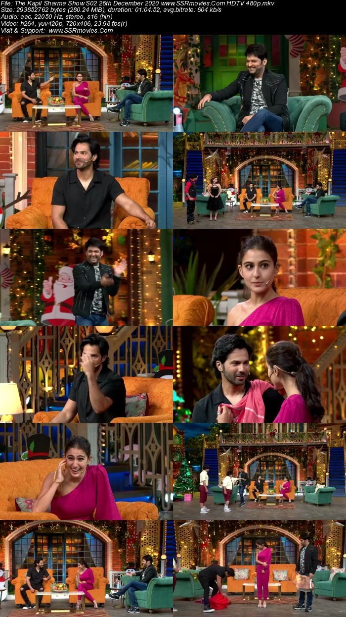 The Kapil Sharma Show S02 26th December 2020 Full Show Download HDTV HDRip 480p 720p Download