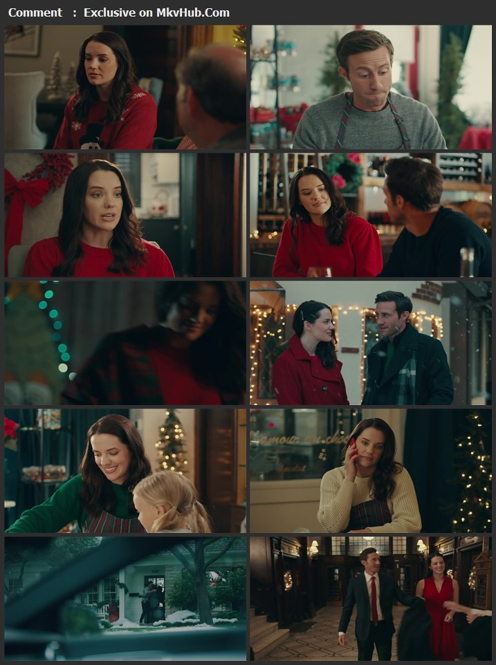 Chocolate Covered Christmas 2020 English 720p WEB-DL 800MB Download