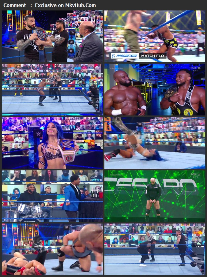 WWE Friday Night SmackDown 01 January 2021 720p WEBRip 750MB Download