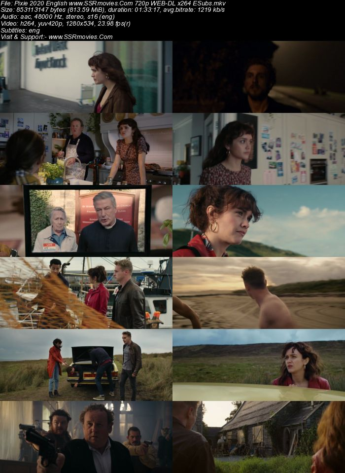 Pixie (2020) English 720p WEB-DL x264 800MB Full Movie Download
