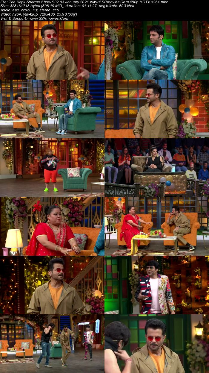 The Kapil Sharma Show S02 3rd January 2021 Full Show Download