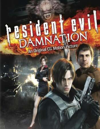 Resident Evil: Damnation 2012 Dual Audio [Hindi-English] 720p BluRay 850MB ESubs