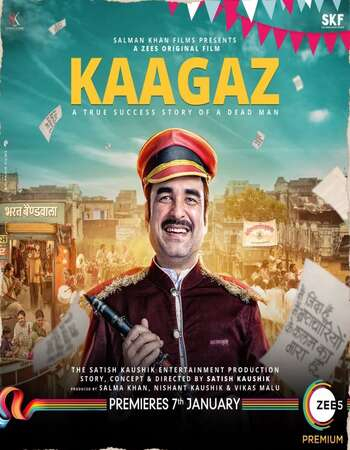 Kaagaz 2021 Hindi 720p WEB-DL x264 900MB