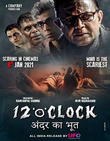 12 O' Clock (2021) Hindi 720p 480p pDVDRip x264 850MB Full Movie Download