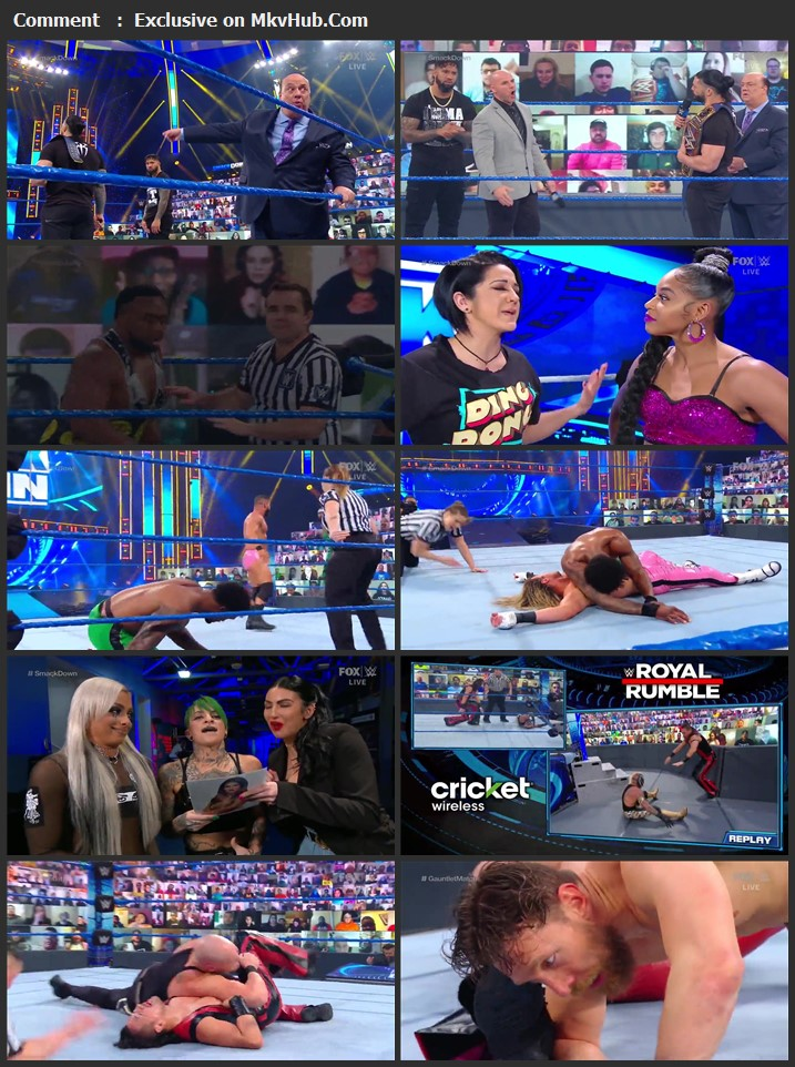 WWE Friday Night SmackDown 08 January 2021 720p WEBRip 750MB Download