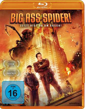 Big Ass Spider! (2013) Dual Audio Hindi 480p BluRay 250MB ESubs Full Movie Download