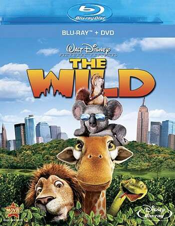 The Wild (2006) Dual Audio Hindi 480p BluRay x264 250MB ESubs Full Movie Download