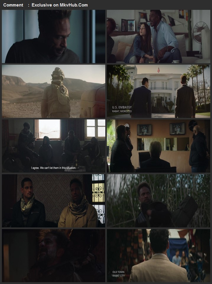 Redemption Day 2021 English 720p WEB-DL 850MB Download