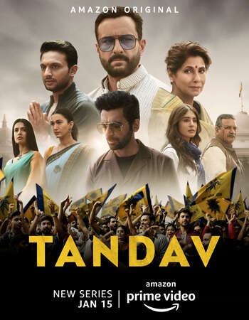 Tandav (2021) S01 Complete Hindi 720p WEB-DL 1.7GB ESubs