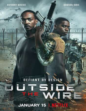Outside the Wire 2021 English 720p WEB-DL 1GB ESubs
