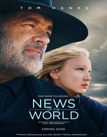 News of the World (2020) English 480p WEB-DL x264 350MB ESubs Full Movie Download