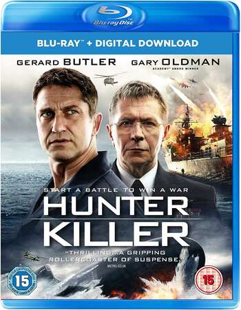 Hunter Killer 2018 Dual Audio [Hindi-English] 720p BluRay x264 1GB ESubs