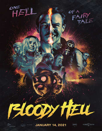 Bloody Hell 2020 English 720p WEB-DL 800MB ESubs