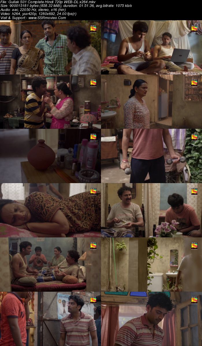 Gullak 2019 S01 Hindi Complete 720p 480p WEB-DL x264 850MB ESubs Download
