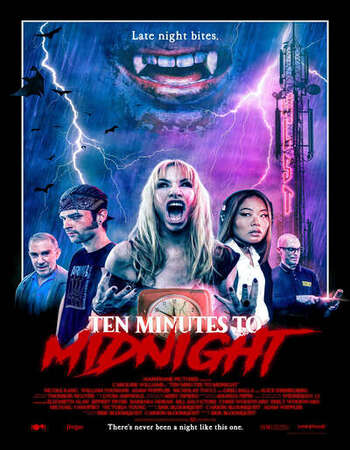 Ten Minutes to Midnight 2020 English 720p WEB-DL 650MB ESubs