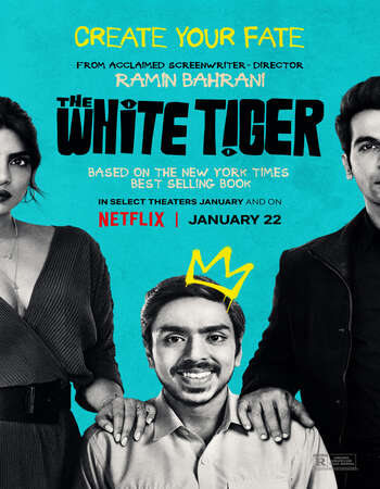 The White Tiger 2021 Hindi 1080p WEB-DL 2GB ESubs