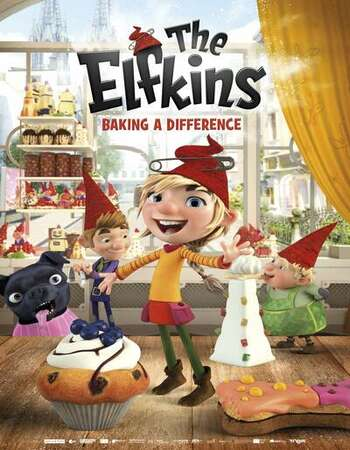 The Elfkins 2020 English 720p WEB-DL 700MB Download