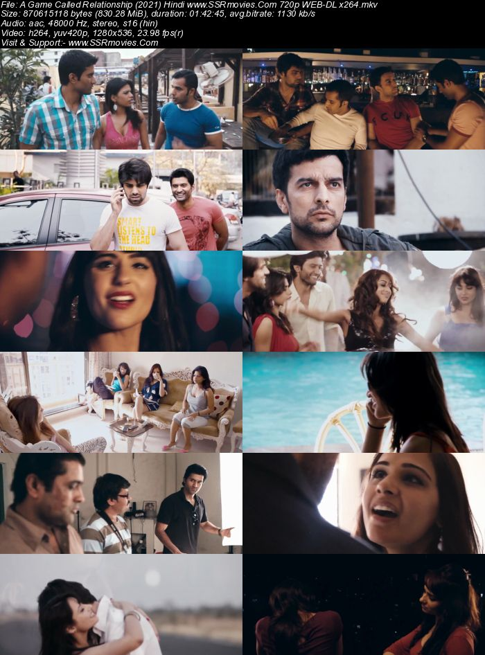 A Game Called Relationship (2020) Hindi 720p WEB-DL x264 800MB Full Movie Download