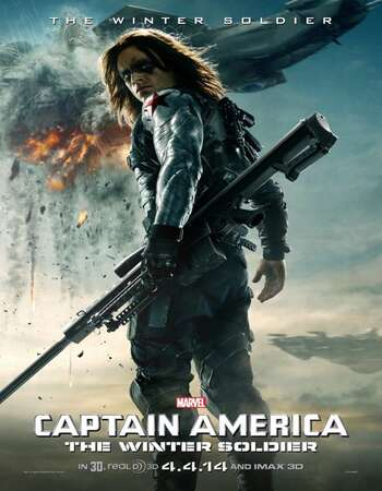 Captain America: The Winter Soldier 2014 Dual Audio Hindi 450MB BluRay 480p