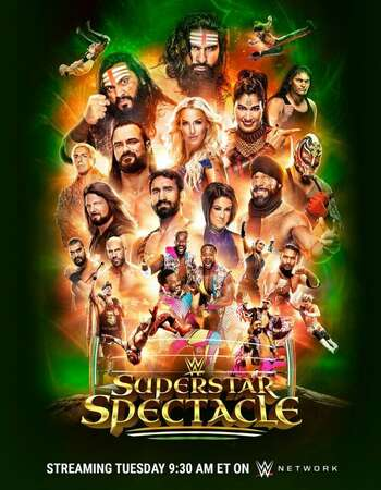 WWE Superstar Spectacle (2021) English 720p WEBRip x264 800MB Download