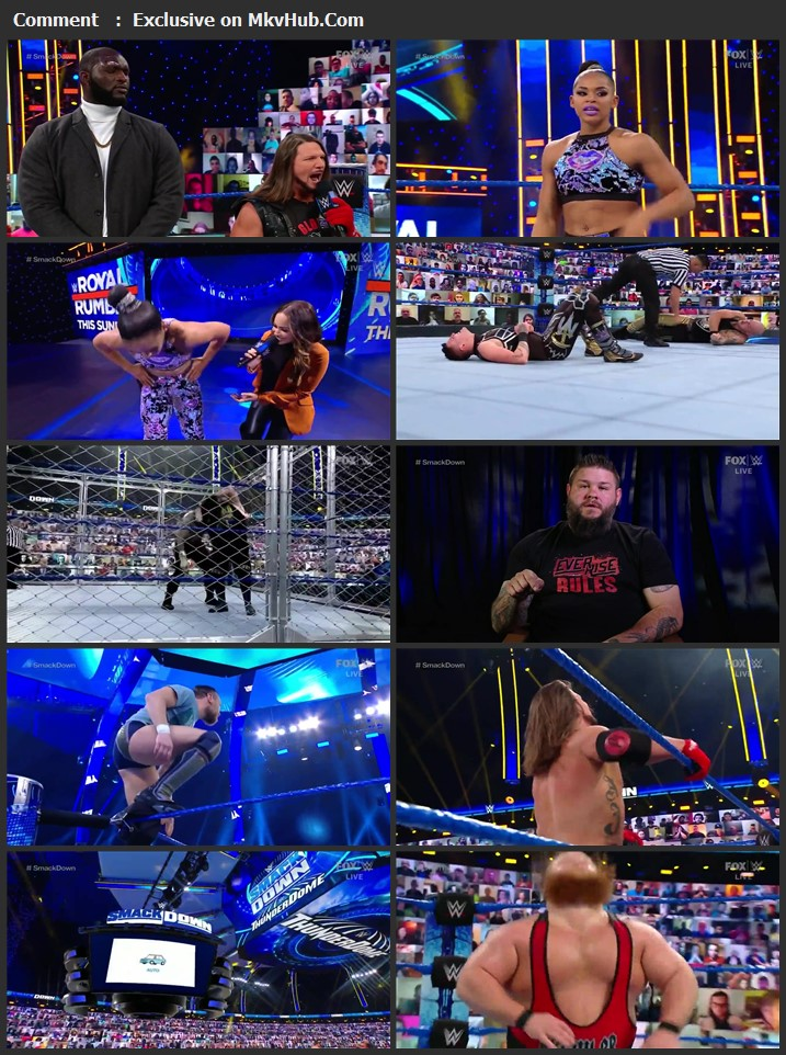 WWE Friday Night SmackDown 29 January 2021 720p WEBRip 750MB Download