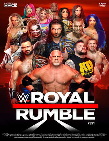 WWE Royal Rumble 2021 PPV 480p 720p WEBRip Full Show Download