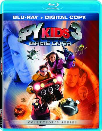 Spy Kids 3-D: Game Over (2003) Dual Audio Hindi 720p BluRay x264 700MB Full Movie Download