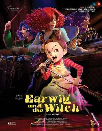 Earwig and the Witch 2020 English 720p WEB-DL 750MB Download