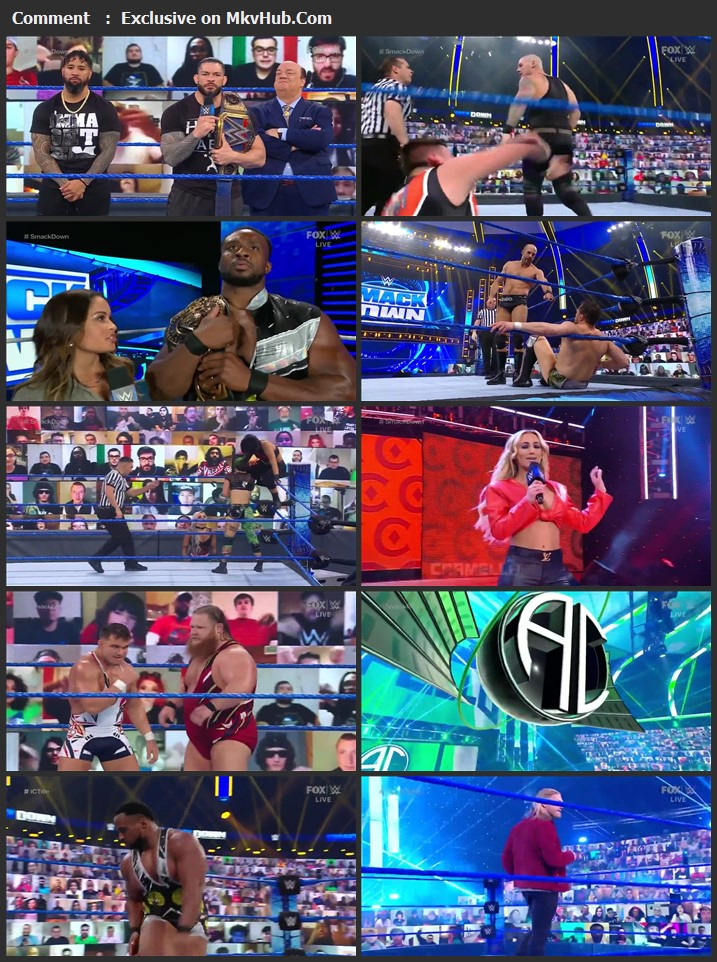 WWE Friday Night SmackDown 5th February 2021 720p WEBRip 750MB Download