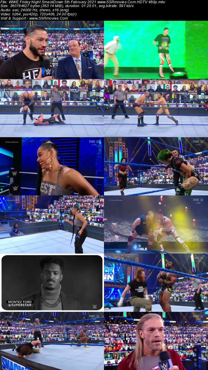 WWE Friday Night SmackDown 5th February 2021 Full Show Download