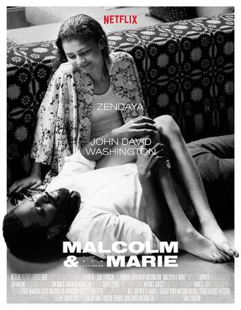 Malcolm & Marie (2021) English 720p WEB-DL x264 900MB Full Movie Download