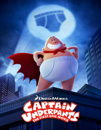 Captain Underpants: The First Epic Movie (2017) Dual Audio Hindi 720p WEB-DL x264 850MB Full Movie Download