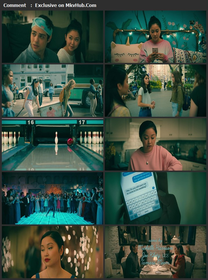 To All the Boys: Always and Forever 2021 English 720p WEB-DL 1GB Download