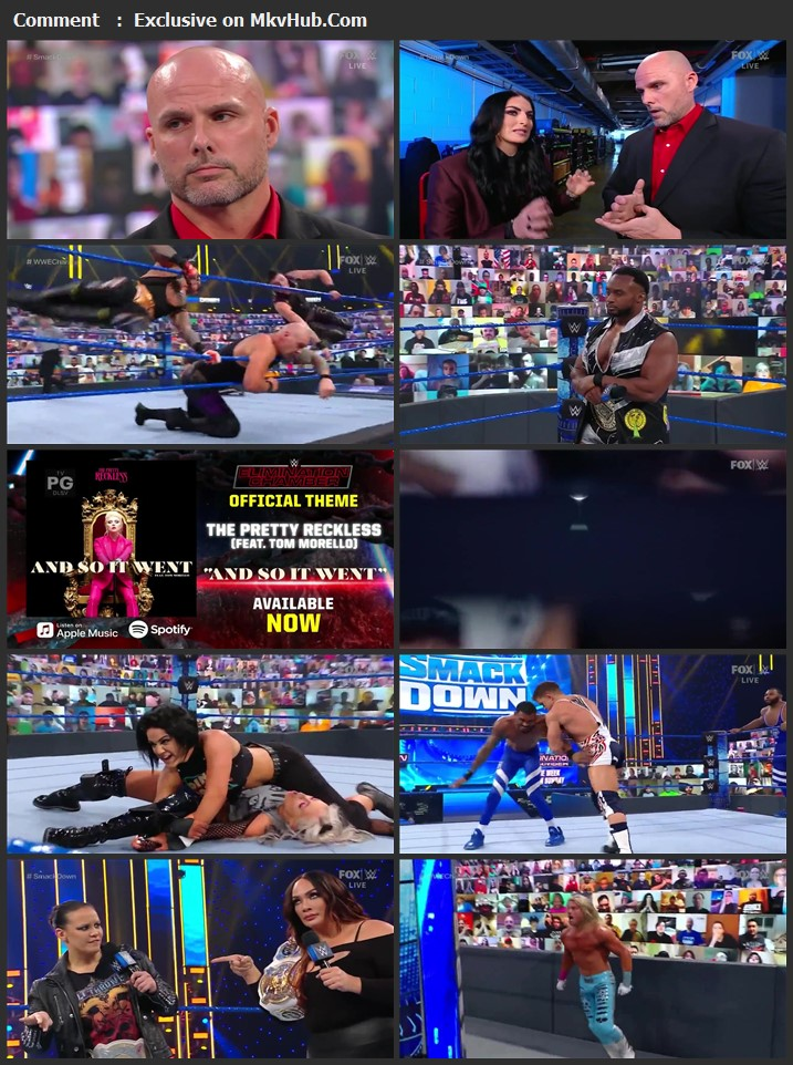 WWE Friday Night SmackDown 12th February 2021 720p WEBRip 750MB Download