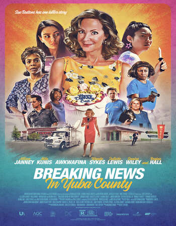 Breaking News in Yuba County (2021) English 720p WEB-DL x264 800MB Full Movie Download