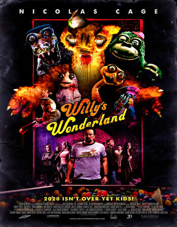Willy's Wonderland (2021) English 720p WEB-DL x264 750MB Full Movie Download