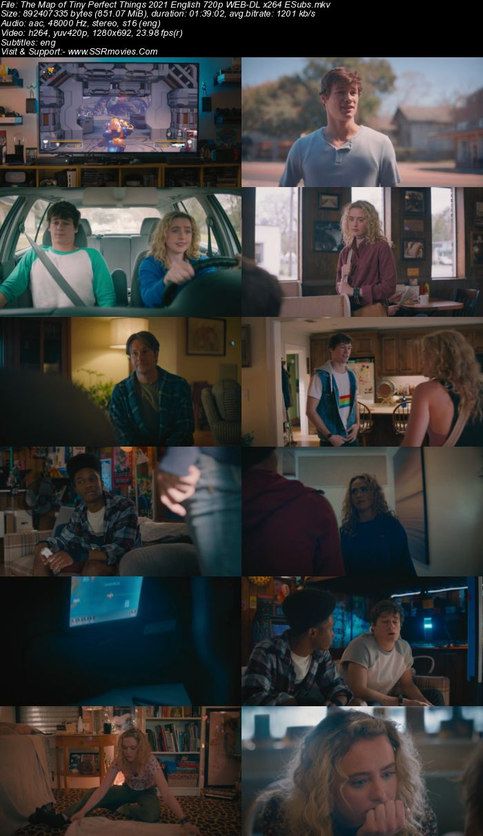 The Map of Tiny Perfect Things (2021) English 720p WEB-DL x264 850MB Full Movie Download