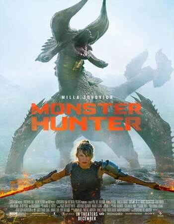 Monster Hunter 2020 English 720p WEB-DL 900MB Download