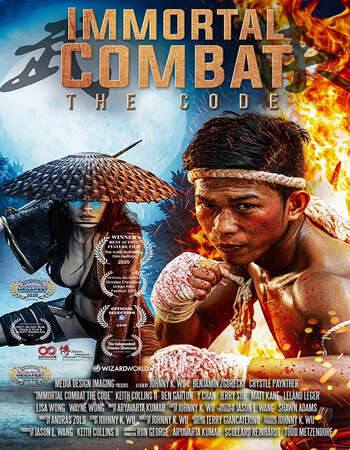 Immortal Combat: The Code (2019) Dual Audio Hindi 720p WEB-DL x264 900MB Full Movie Download
