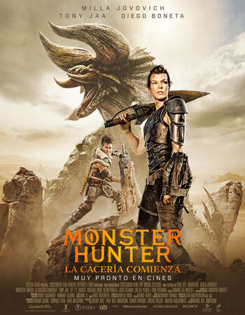 Monster Hunter 2020 Dual Audio [Hindi-English] 1080p WEB-DL 1.8GB ESubs